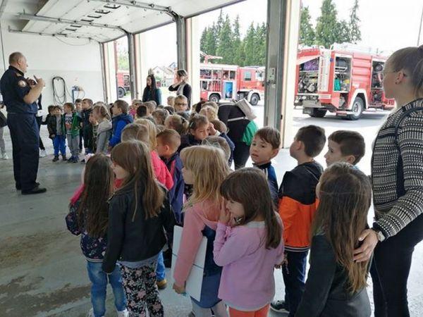 Posjet vatrogascima